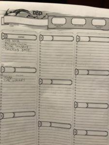Elwin Levere D&D Character Sheet